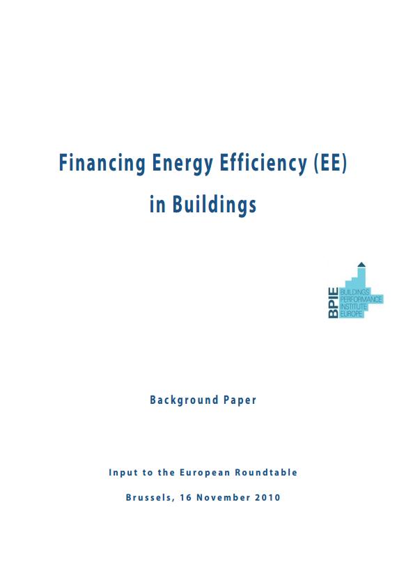 cover Financing EE